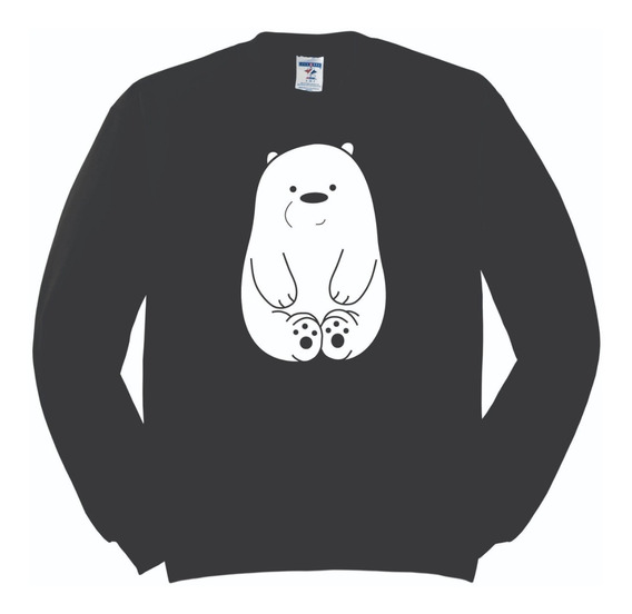 Sudadera Polar Escandalosos We Bare Bears Cachorro