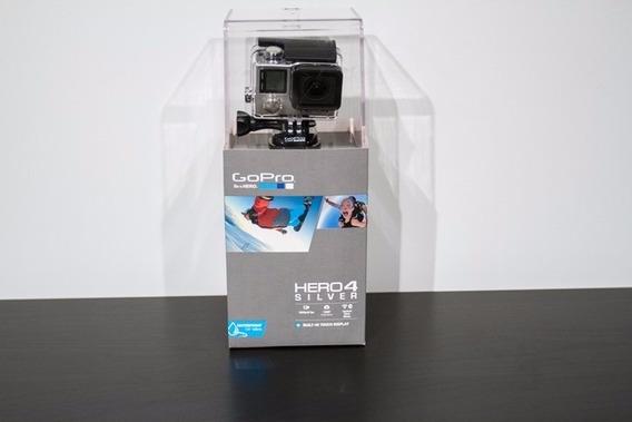 Filmadora Go Pro Hero 4 Silver + Gopole Cabo De Selfie Gpr-9
