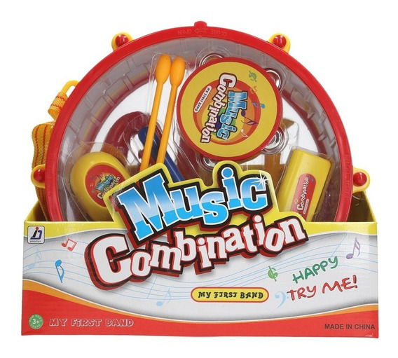 Music Combination Set Musical X7 Instrumentos Ck 0112