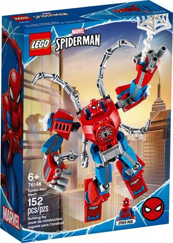 Imagen 1 de 6 de Lego Super Heroes - Armadura Robótica De Spider-man 76146