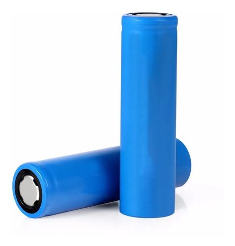 2 Baterias Pila Recargables 18650 Litio Bocina Vaper Lampara