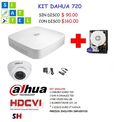 Dvr, Xvr, Dahua, Hikvision Cctv, Oferta, Promocion Camaras