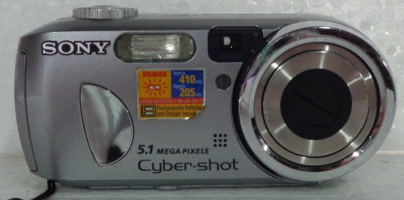 Camera Fotográfica Sony Cyber-shot 5.1 Mega Pixels