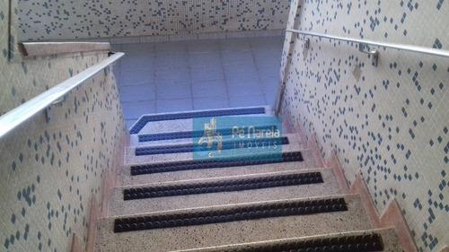 Apartamento Com 2 Dormitórios À Venda, 57 M² Por R$ 210.000 - Canto Do Forte - Praia Grande/sp - Ap0910