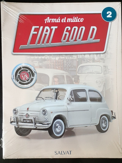 Fiat 600 D Para Armar Fascículo # 2 Planeta Deagostini
