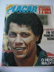 Revista Placar 101 Vasco Flamengo Samba Bangu Palmeiras 1972