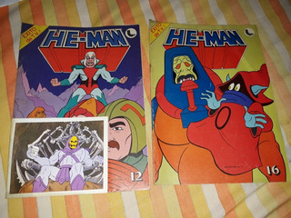 Lote Revista X 2 He Man