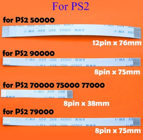 Flex Ps2 Controlador De Carga De Placa Pcb Y Cable Flexible