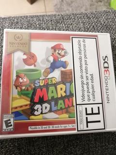 Nintendo 3ds Super Mario Land 3d Sellado Juego Físico