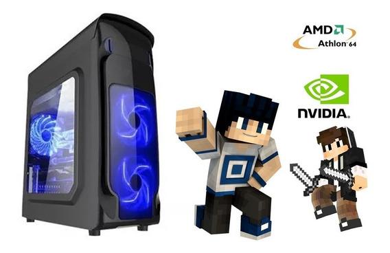 Computador Gamer Barato 2gb Minecraft Presente De Natal