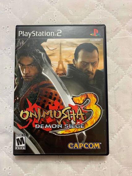 Game Ps2 - Onimusha 3: Demon Siege