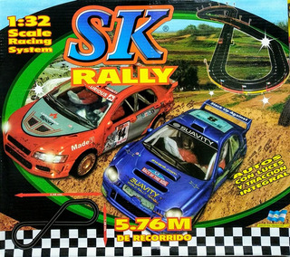 Pista Tipo Scalextric 5.76m Longitud - Rally 1/32 - Sk 97002