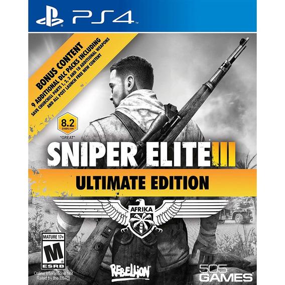 Sniper Elite 3: Ultimate Edition Ps4 Lacrado