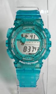 Reloj G-shock Dama Caballero Transparente Tienda Virtual