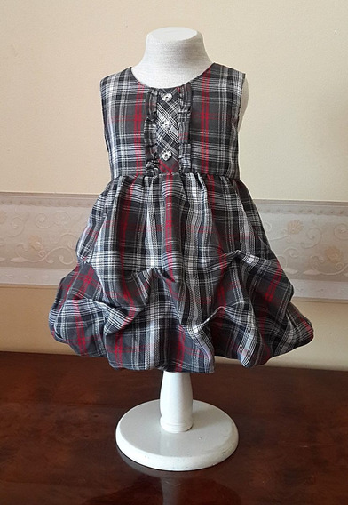 Vestido Importado Nena Fiesta 3-6 Meses Usa