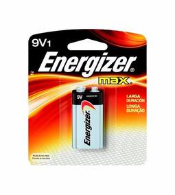 Bateria Pilha Alcalina Max 9 Volts Energizer