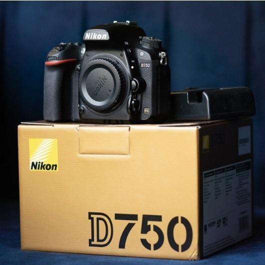 Camara Nikon D750 Cuerpo Full Frame Profesional Vendo Cambio