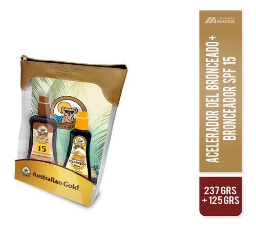 Pk Austr.gold F15 237ml+austr. Gold Acel 125ml