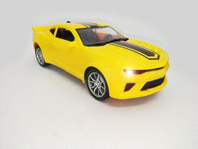 Carrinho Controle Remoto Camaro Amarelo Lançamento Rc Carro
