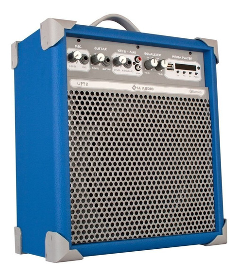 Caixa Ativa Amplificada 8 Bluetooth - Up-8 55 Watts Rms Nca