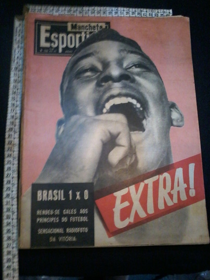 Revista Manchete Esportiva 136 1958