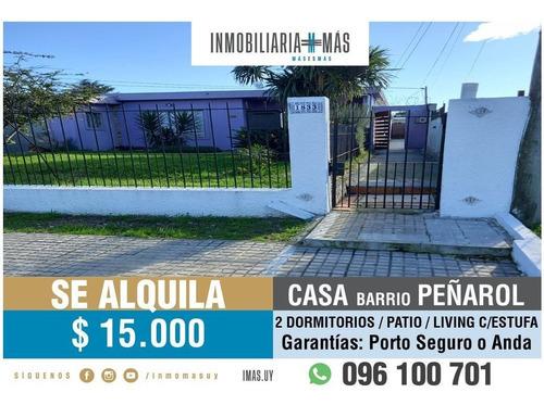 Alquiler Casa 2 Dormitorios Peñarol Montevideo Imas.uy L *