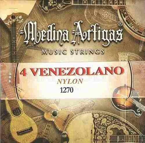 Encordado Cuatro (4) Venezolano Nylon Medina Artigas 1270