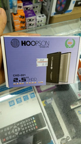 Case Externa Para Hd 2,5 Notebook Hoopson