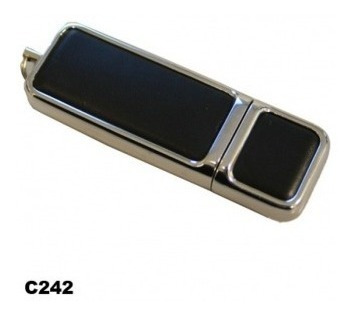 Pen Drive Couro C/ Borda Metalica - 8gb