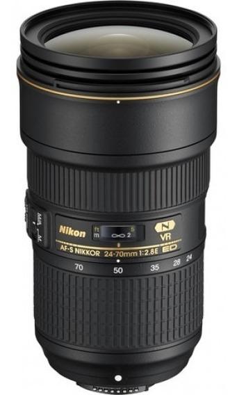 Lente Original Nikon 24-70mm 2.8 (com Estabilizador)