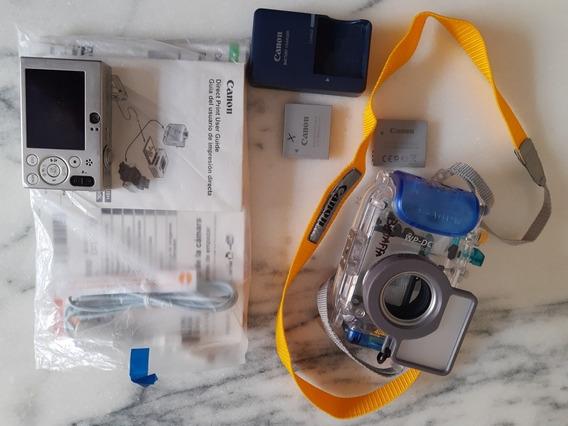 Câmera Subaquática Canon Sd 1000