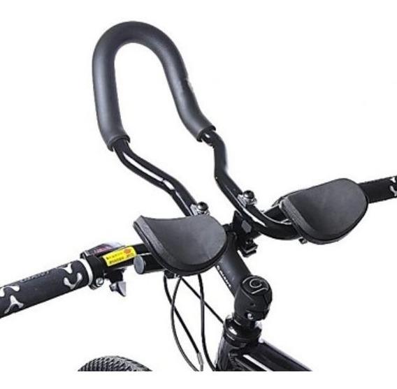 Apoyo / Descansa Brazos Manubrio Triatlon Bicicleta Aluminio