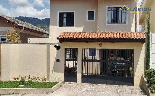 Casa Com 3 Dormitórios À Venda, 231 M² Por R$ 729.000,00 - Jardim Maristela - Atibaia/sp - Ca2436