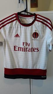 Camisa Futebol Milan Infantil adidas