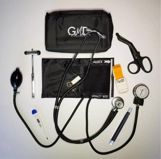 Kit Completo Enfermería Uso Clínico Y Estudiantil 7 Piezas
