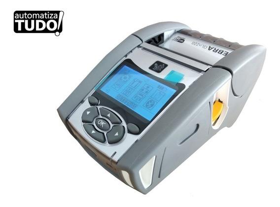Impressora De Etiquetas Portátil Zebra-qln220