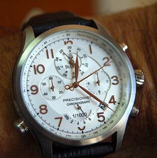 Bulova Precisionist Wilton Cronografo Unico Impecable Sd