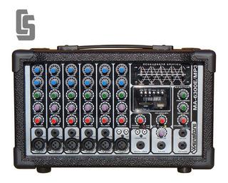 Consola Potenciada Wenstone Ma-6300e / Mp3 300 W 6 Canales
