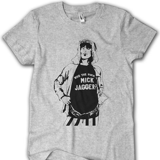 Remeras Keith Richards - Mick Jagger
