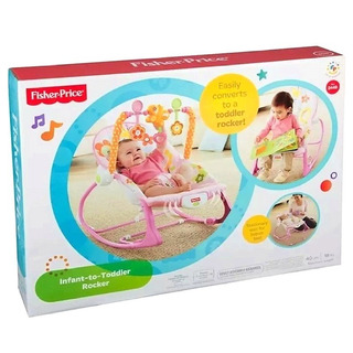Sillita Mecedora Para Bebe Nena Fisher Price Nueva Original