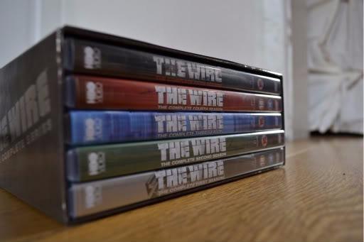 Blu-ray The Wire - 1a + 2a + 3a + 4a + 5a Temporadas