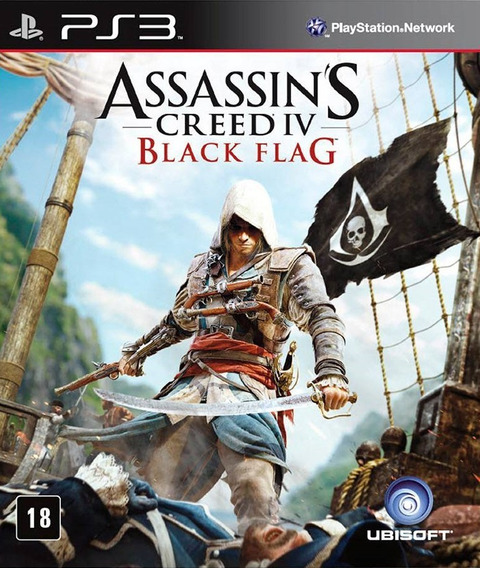 Assassins Creed 4 Black Flag - Ps3 Psn Português Br