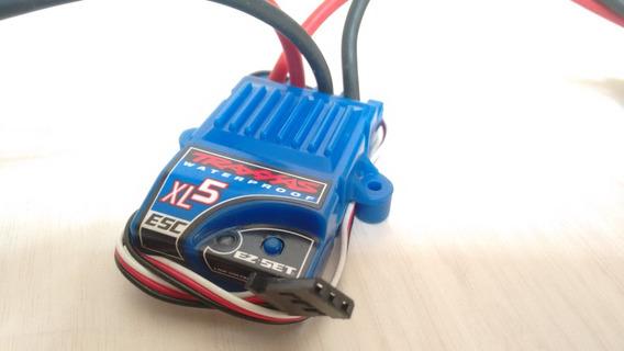 Esc Xl5 Traxxas Whaterproof Plug Id Connection Nimh Lipo 2s