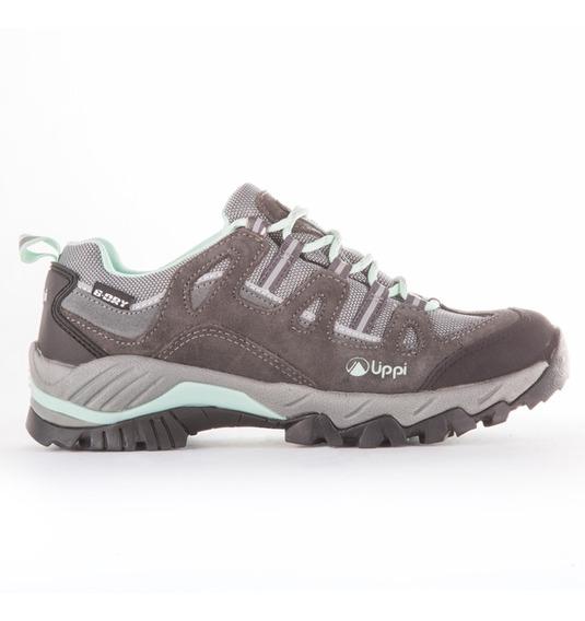 Zapato Mujer Puelo Cs Low Gris / Verde Agua Lippi