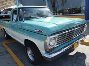 1967 Ford Pick Up Clasico De Colección Color Aqua