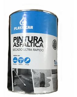 Pintura Asfaltica Base Solvente Plasticar X 18 Litros