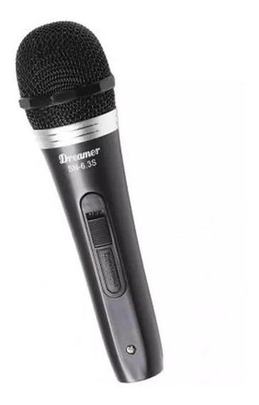 Microfone Dinâmico Dreamer Sn-63s