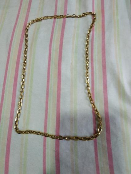 Cordão Ouro 18k 15g Oco Corrente 60cm