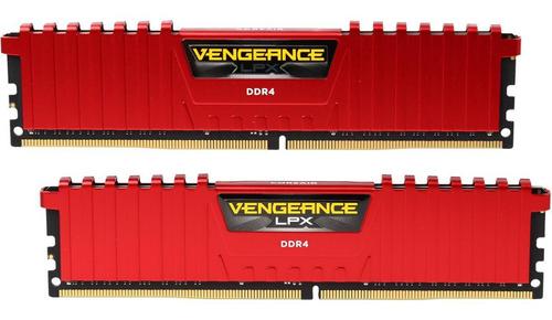 Kit Ram Ddr4 2666mhz Cl16 Corsair Vengeance Lpx Dual Channel