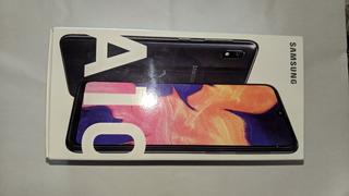 Samsung A10, Nuevo En Caja Con Todos Los Accesorios